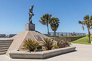 Historic Sculpture of Richard Henry Dana at the Dana Point Harbor