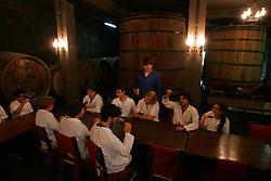 Alunos do curso de enologia no CEFET (Centro Federal de Educação Tecnológica) de Bento Gonçalves, a 120 km de Porto Alegre.  Único do Brasil na área. FOTO: Jefferson Bernardes/Preview.com