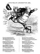 John Bull's Locomotive Leg.