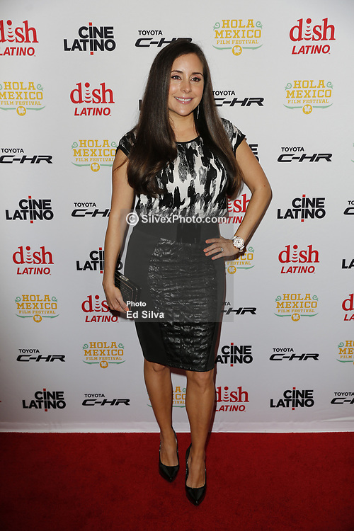 LOS ANGELES, CA - JUNE 7 Karyme Lozano attends the 9th Annual Hola Mexico Film Festival Opening Night at the Regal LA LIVE in downtown Los Angeles, on June 7, 2017 in Los Angeles, California. Byline, credit, TV usage, web usage or linkback must read SILVEXPHOTO.COM. Failure to byline correctly will incur double the agreed fee. Tel: +1 714 504 6870.