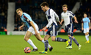 Sebastien Pocognoli on the ball during the The FA Cup match between West Bromwich Albion and Gateshead at The Hawthorns, West Bromwich, England on 3 January 2015. Photo by Alan Franklin.