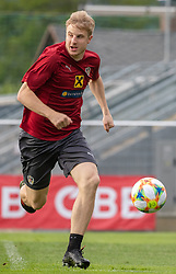 02.06.2018, Woerthersee Stadion, Klagenfurt, AUT, ÖFB Nationalteam, Training, im Bild Martin Hinteregger (AUT) // Martin Hinteregger of Austria during a Trainingssession of Austrian National Footballteam at the Woerthersee Stadion in Klagenfurt, Austria on 2018/06/02. EXPA Pictures © 2019, PhotoCredit: EXPA/ Johann Groder