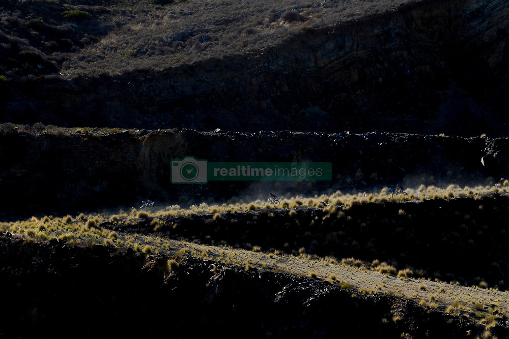 Riders pass through a quarry during the Prologue of the 2017 Absa Cape Epic Mountain Bike stage race held at Meerendal Wine Estate in Durbanville, South Africa on the 19th March 2017<br /> <br /> Photo by Greg Beadle/Cape Epic/SPORTZPICS<br /> <br /> PLEASE ENSURE THE APPROPRIATE CREDIT IS GIVEN TO THE PHOTOGRAPHER AND SPORTZPICS ALONG WITH THE ABSA CAPE EPIC<br /> <br /> {ace2016}
