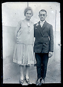 portrait of a couple France ca 1920s