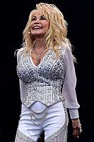 Dolly Parton Live at Glastonbury 2014 photo by David Court