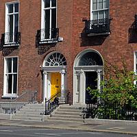 Europe, Ireland, Dublin. Dublin Homes.