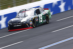 September 27, 2018 - Concord, North Carolina, United States of America - Brandon Jones (19) races down the back straightaway during practice the Drive for the Cure 200 at Charlotte Motor Speedway in Concord, North Carolina. (Credit Image: © Chris Owens Asp Inc/ASP via ZUMA Wire)