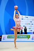 Chun Song is a Korean rhythmic gymnastics athlete born in Seoul in 1997.