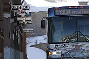 SHOT 3/2/17 10:04:33 AM - Park City, Utah lies east of Salt Lake City in the western state of Utah. Framed by the craggy Wasatch Range, it's bordered by the Deer Valley Resort and the huge Park City Mountain Resort, both known for their ski slopes. Utah Olympic Park, to the north, hosted the 2002 Winter Olympics and is now predominantly a training facility. In town, Main Street is lined with buildings built primarily during a 19th-century silver mining boom that have become numerous restaurants, bars and shops. (Photo by Marc Piscotty / © 2017)