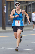 Middletown, New York - People run through the streets of Middletown during th 2012 Run 4 Downtown road race on Saturday, Aug. 18, 2012.