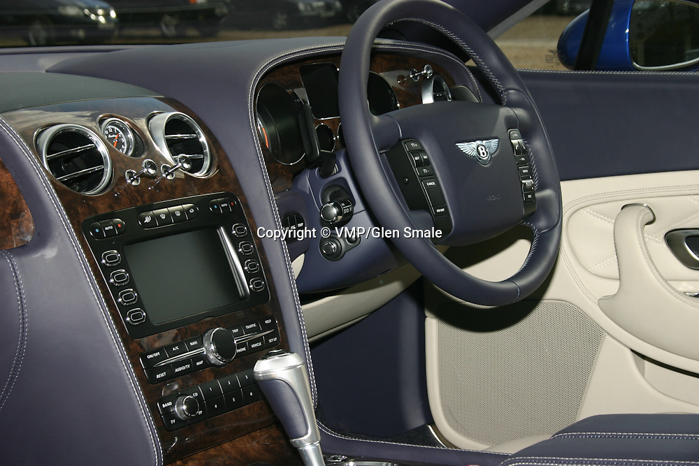 2007 Bentley Continental GT Interior, Clivedon House Bucks