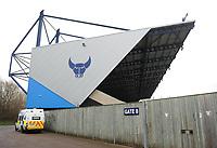 A general view of Kassam Stadium, home of Oxford United FC<br /> <br /> Photographer Kevin Barnes/CameraSport<br /> <br /> The EFL Sky Bet League One - Oxford United v Blackpool - Saturday 15th December 2018 - Kassam Stadium - Oxford<br /> <br /> World Copyright © 2018 CameraSport. All rights reserved. 43 Linden Ave. Countesthorpe. Leicester. England. LE8 5PG - Tel: +44 (0) 116 277 4147 - admin@camerasport.com - www.camerasport.com