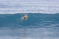 December 11, 2017 - Haleiwa, Hawaii, U.S. - World No.1 on the Jeep Leaderboard and reigning World Champion John John Florence of Hawaii advances directly to Round Three of the 2017 Billabong Pipe Masters after winning Heat 6 of Round One at Pipe, Oahu, Hawaii, USA...Billabong Pipe Masters 2017. (WSL via ZUMA Wire/ZUMAPRESS.com)