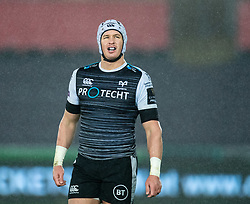 Hanno Dirksen of Ospreys<br /> <br /> Photographer Simon King/Replay Images<br /> <br /> Guinness PRO14 Round 6 - Ospreys v Connacht - Saturday 2nd November 2019 - Liberty Stadium - Swansea<br /> <br /> World Copyright © Replay Images . All rights reserved. info@replayimages.co.uk - http://replayimages.co.uk