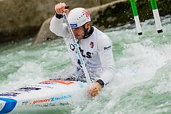 Vojtech HEGER (CZE) during Canoe Semi Finals at World Cup Tacen, 18 October 2020, Tacen, Ljubljana Slovenia. Photo by Grega Valancic / Sportida