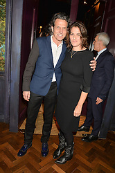 STEPHEN WEBSTER and TRACEY EMIN at an Evening of Riviera Inspired Glamour in aid of CLIC Sargentheld at Sketch, 9 Conduit Street, London on 25th January 2016.