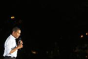 BARACK OBAMA RALLIES NY AT WASHINGTON SQUARE PARK