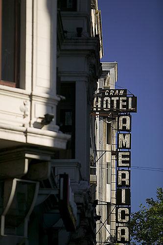 South America, Uruguay, Canelones, Montevideo, downtown, Gran Hotel America