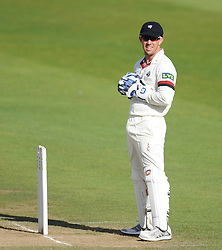 Somerset's Luke Ronchi looks on.  - Mandatory byline: Alex Davidson/JMP - 07966386802 - 12/09/2015 - CRICKET - The County Ground -Taunton,England - Somerset CCC v Hampshire CCC - Day 4