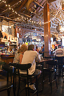 Interior of The Iron Door Saloon in Groveland, the oldest continuously operating tavern bar in California
