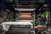 Lyon, Atelier Hermès, Bussière -dipartimento della Loire- nell'Atelier della tessitura