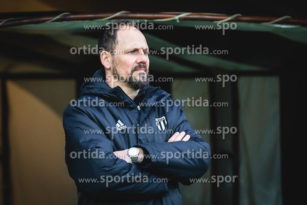 Ante Šimundža, head coach of Mura during football match between NŠ Mura and NK Maribor in 22nd Round of Prva liga Telekom Slovenije 2019/20, on February 26, 2020 in Fazanerija, Murska Sobota, Slovenia. Photo by Blaž Weindorfer / Sportida