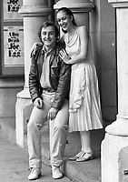 Tara Syed from the Dublin City Ballet with Garry Foy from Las Vegas, 02/03/1987 (Part of the Independent Newspapers Ireland/NLI Collection).