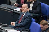08 NOV 2018, BERLIN/GERMANY:<br /> Ralph Brinkhaus, MdB, CDU, CDU/CSU Fraktionsvorsitzender, Bundestagsdebatte zum Gesetzentwurf der Bundesregierung ueber Leistungsverbesserungen und Stabilisierung in der gesetzlichen Rentenversicherung, Plenum, Deutscher Bundestag<br /> IMAGE: 20181108-01-006<br /> KEYWORDS: Sitzung