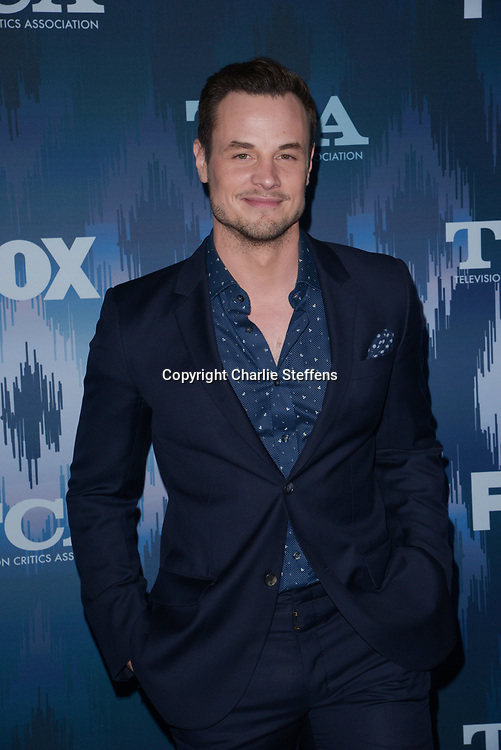 DEAN SHEREMET at the Fox Winter TCA 2017 All-Star Party at the Langham Hotel in Pasadena, California