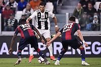 Cristiano Ronaldo Juventus, Ibrahima Mbaye, Ladislav Krejci Bologna <br /> Torino 26-09-2018 Allianz Stadium Football Calcio Serie A 2018/2019 Juventus - Bologna  <br /> Foto OnePlusNine / Insidefoto