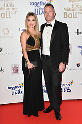 © Licensed to London News Pictures. 07/06/2017. London, UK. OLA JORDAN and JAMES JORDAN attends the Together for Short Lives Midsummer Ball. Photo credit: Ray Tang/LNP
