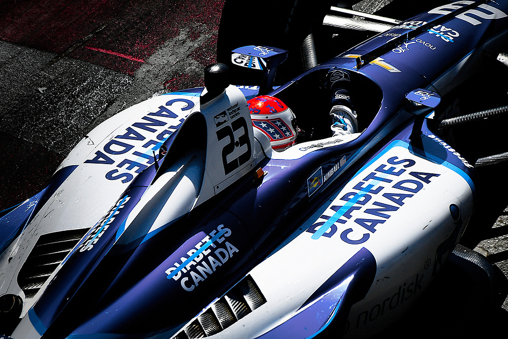 Charlie Kimball, Carlin Chevrolet<br /> Sunday 15 July 2018<br /> Honda Indy Toronto<br /> Verizon IndyCar Series<br /> Streets of Toronto ON CAN<br /> World Copyright: Scott R LePage