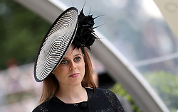 Princess Beatrice of York during day three of Royal Ascot at Ascot Racecourse.