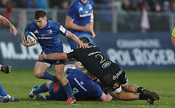Leinster's Luke McGrath during the Heineken European Champions Cup, pool one match at The Recreation Ground, Bath. PRESS ASSOCIATION Photo. Picture date: Saturday December 8, 2018. See PA story RUGBYU Bath. Photo credit should read: David Davies/PA Wire. RESTRICTIONS: Editorial use only. No commercial use.