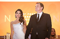 Daniela Pick and Director Quentin Tarantino at the Once Upon A Time... In Holywood gala screening at the 72nd Cannes Film Festival Tuesday 21st May 2019, Cannes, France. Photo credit: Doreen Kennedy