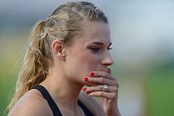 31-07-2015 NED: Asics NK Atletiek, Amsterdam<br /> Nk outdoor atletiek in het Olympische stadion Amsterdam /  Laura de Witte voor de 400 m