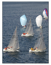The third days racing at the Bell Lawrie Yachting Series in Tarbert Loch Fyne ..Perfect conditions finally arrived for competitors on the three race courses...One design Fleets Sigma 33 and 1720..