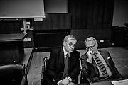 Giuseppe Pignatone,  durante il convegno sull'accesso in magistratura all'Università La Sapienza. Roma 27 aprile 2016. Christian Mantuano / OneShot