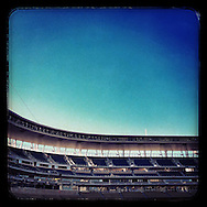 An Instagram of Target Field after the final Minnesota Twins game of the regular season on September 29, 2013 in Minneapolis, Minnesota.