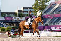 Fraser-Beaulieu Brittany, CAN, All In, 113<br /> Olympic Games Tokyo 2021<br /> © Hippo Foto - Dirk Caremans<br /> 28/07/2021