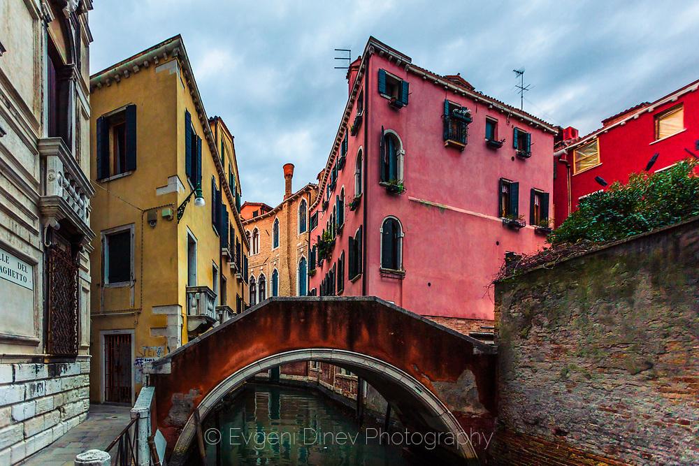 Bridge across the street in Venice
