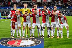 17-10-2017 NED, UEFA CL, Feyenoord - FC Shakhtar Donetsk, Rotterdam<br /> UEFA Champions League Round of 16, 3rd Leg match between Feyenoord vs. Donetsk at the stadion DE Kuip in Rotterdam / Teamfoto Feyenoord