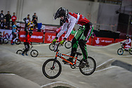#51 (W?LHK Andreas) DEN at the 2016 UCI BMX Supercross World Cup in Manchester, United Kingdom<br /> <br /> A high res version of this image can be purchased for editorial, advertising and social media use on CraigDutton.com<br /> <br /> http://www.craigdutton.com/library/index.php?module=media&pId=100&category=gallery/cycling/bmx/SXWC_Manchester_2016
