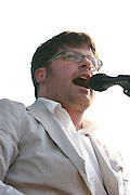 The Decemberists perform during the fourth day of the 2007 Bonnaroo Music & Arts Festival on June 17, 2007 in Manchester, Tennessee. The four-day music festival features a variety of musical acts, arts and comedians..Photo by Bryan Rinnert