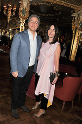 FARES & TANIA FARES at the 50th birthday party for Patrick Cox held at the Café Royal Hotel, 68 Regent Street, London on 15th March 2013.