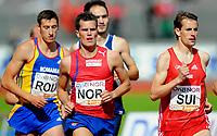 Friidrett<br /> 20. Juni 2009<br /> European Team Championships 1. st Leauge<br /> Fana Stadion<br /> 1500 m<br /> Morten Velde , Norge<br /> Foto : Astrid M. Nordhaug