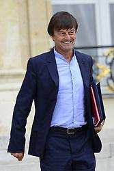 August 2, 2017 - Paris, France, France - Nicolas Hulot - Ministre d Etat , ministre de la Transition ecologique et solidaire (Credit Image: © Panoramic via ZUMA Press)