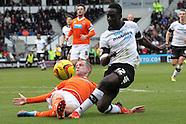 Derby County v Blackpool 071213
