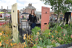 LADY NATASHA RUFUS-ISAACS at the 2016 RHS Chelsea Flower Show, Royal Hospital Chelsea, London on 23rd May 2016