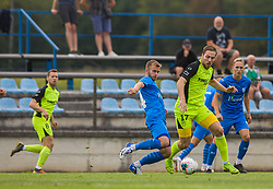 during the match of 1st. round of Cup Slovenia 2020/21 between NK Sencur an NK Nafta 1903, on 02.09.2020 in Sencur, Slovenia. Photo by Urban Meglič / Sportida